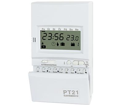 Prostorový digitální termostat PT21 + DOPRAVA ZDARMA