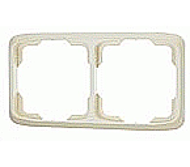 Dvojnásobný rámeček TANGO slonová kost