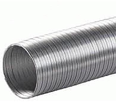 Ohebné ventilační ALU potrubí 100/1m