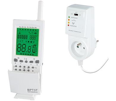 Bezdrátový digitální termostat BPT37 + DOPRAVA ZDARMA