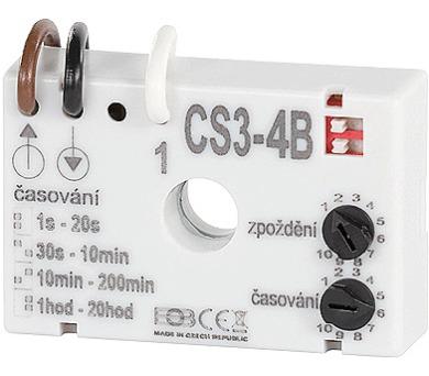 Časový spínač CS3-4B pod vypínač