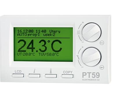 ELEKTROBOCK inteligentní termostat PT59 + DOPRAVA ZDARMA