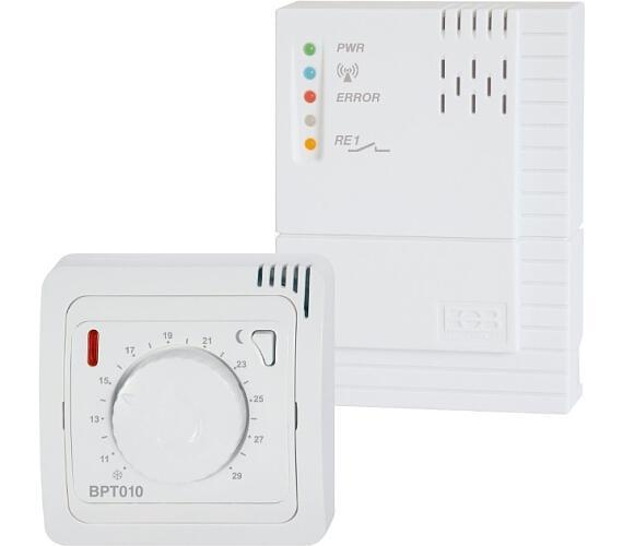 Bezdrátový termostat BPT012 se systémem samoučení kódů + DOPRAVA ZDARMA