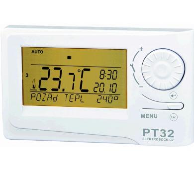 Prostorový digitální termostat PT32 + DOPRAVA ZDARMA