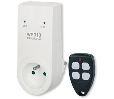 Dálkově ovládaná zásuvka WS313 + DOPRAVA ZDARMA