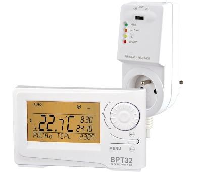 Bezdrátový digitální prostorový termostat BPT32 + DOPRAVA ZDARMA