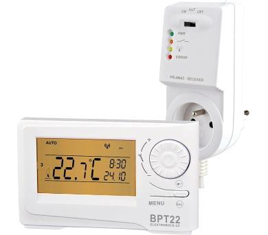 ELEKTROBOCK Termostat bezdrátový digitální BPT22 + DOPRAVA ZDARMA