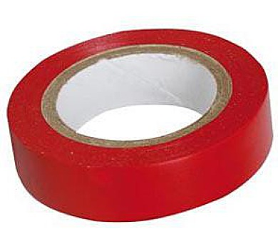 Izolační páska PVC 15/10 ANTICOR červená