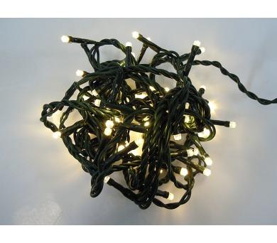 Vánoční osvětlení - stálesvítící - TEPLÁ BÍLÁ + DOPRAVA ZDARMA