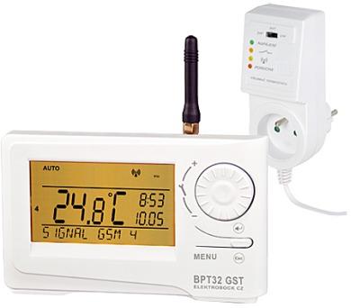 ELEKTROBOCK Termostat bezdrátový digitální prostorový s GSM modulem BPT32 GST
