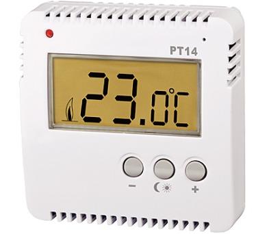 Prostorový digitální termostat PT14 + DOPRAVA ZDARMA
