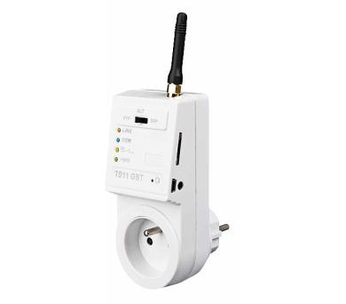 ELEKTROBOCK ovládaná GSM zásuvka TS11 GST + DOPRAVA ZDARMA
