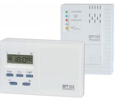 Bezdrátový termostat BPT102 se systémem samoučení kódů + DOPRAVA ZDARMA