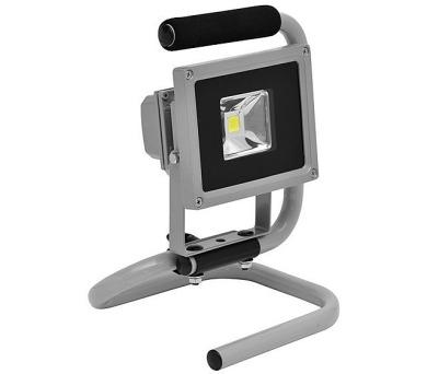 LED reflektor s podstavcem SMD 10W šedý