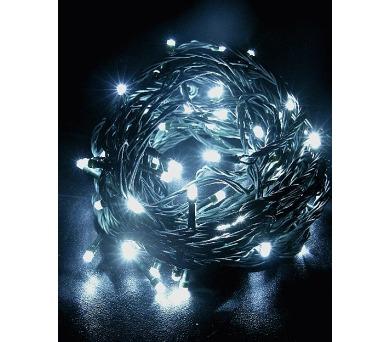 Vánoční osvětlení 180 LED - programovatelné - BÍLÉ