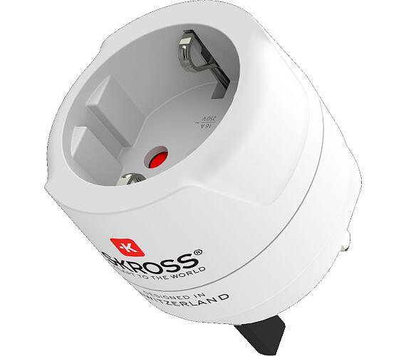 Cestovní adaptér pro použití v UK