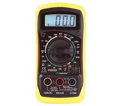 Ostatní Digitální multimetr FK8550 M72
