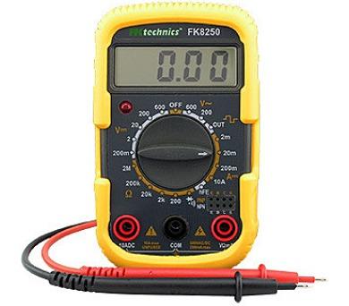 Ostatní Digitální multimetr FK8250 M71