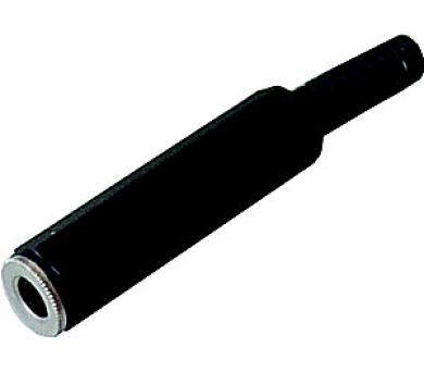 Konektor JACK zdířka 6.3 STEREO kabelová KJ08