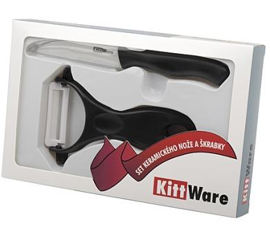 Set keramického nože a škrabky Kittware