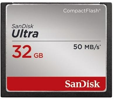 Sandisk CF Ultra 32GB + DOPRAVA ZDARMA
