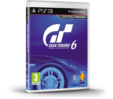 Sony PlayStation 3 Gran Turismo 6 CZ
