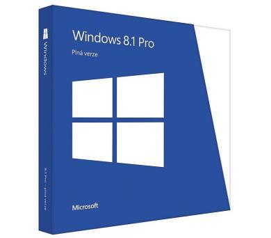 Microsoft Windows 8.1 Pro CZ 64bit - legalizace (GGK)
