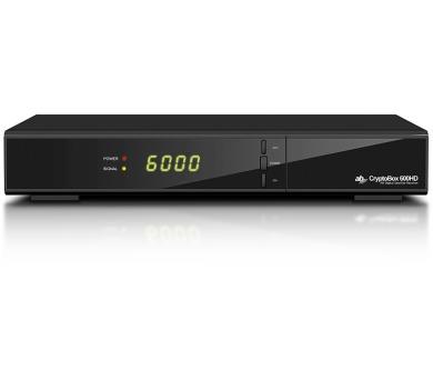 Satelitní přijímač AB CryptoBox 600HD