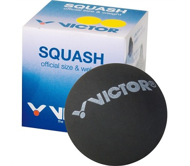 Victor SQUASHBALL blue - rychlý v krabičce - černý
