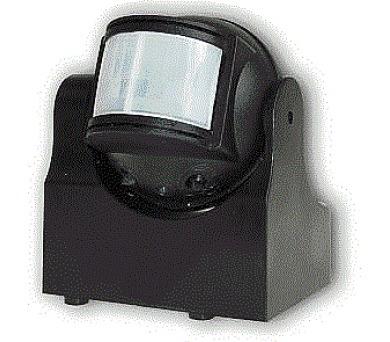 ELEKTROBOCK Čidlo pohybové LX38 - černé 180°