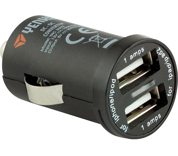 YAC 2002 USB Autonabíječka 2000mA Yenkee