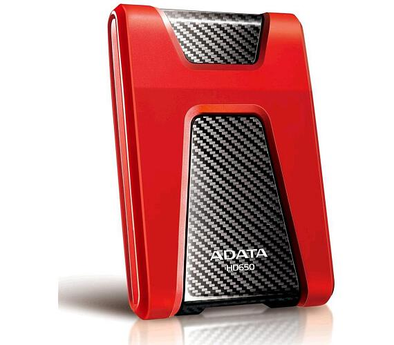 A-Data HD650 1TB - červený
