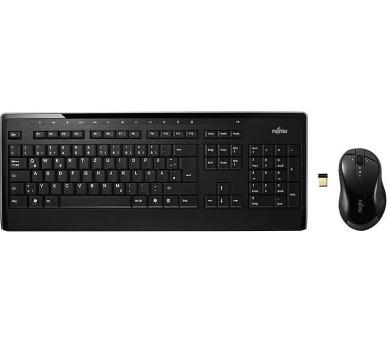 Klávesnice a myš Fujitsu wireless LX901 CZ/SK