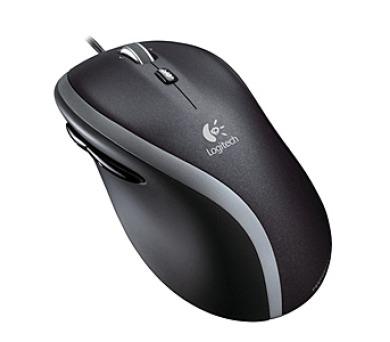 Logitech Corded Mouse M500 / laserová / 6 tlačítek / 1000dpi - černá