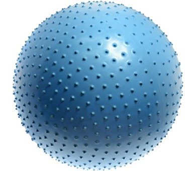 Lifefit gymnastický MASSAGE BALL 65 cm - modrý