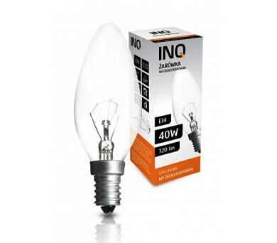 Žárovka INQ svíčka 40W/E14