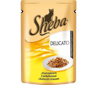 Sheba DELICATO kuřecí maso v želé 80g