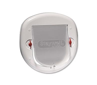 Staywell s transparentním flapem 280 - bílá