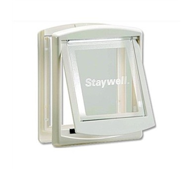 Staywell s transparentním flapem 715 - bílá