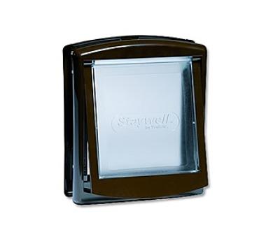 Staywell s transparentním flapem 730 - hnědá