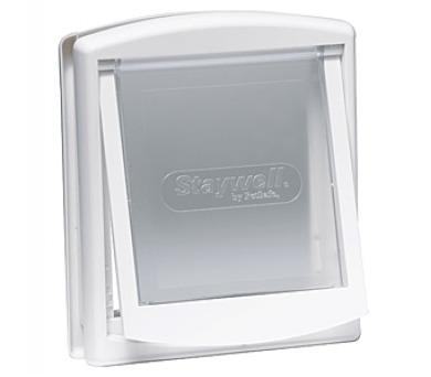 Staywell s transparentním flapem 740 - bílá + DOPRAVA ZDARMA