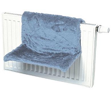 Odpočívadlo na radiátor modré 1ks