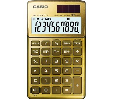 Casio SL 1000 TW zlatá