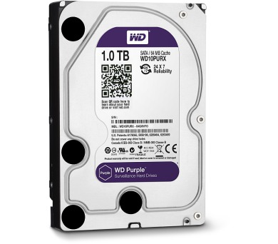 "HDD 3,5"" Western Digital Purple 1TB SATA III"