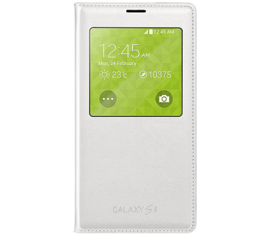 Samsung S-view pro Galaxy S5 (EF-CG900B) - bílé