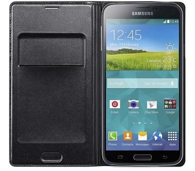 Samsung pro Galaxy S5 s kapsou (EF-WG900BB) - černé + DOPRAVA ZDARMA