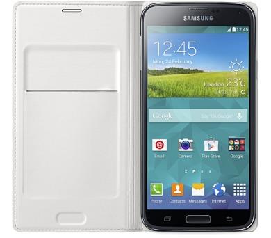 Samsung pro Galaxy S5 s kapsou (EF-WG900BW) - bílé
