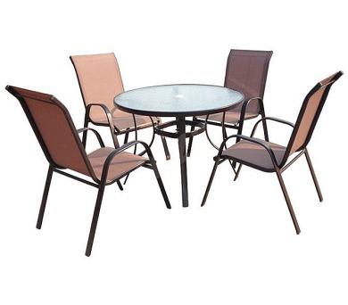 SET zahradního nábytku Jasin - Bronz Design + DOPRAVA ZDARMA