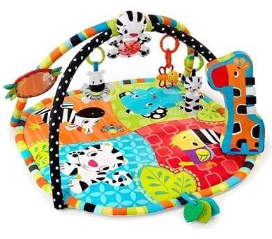 Hrací deka s hrazdou Bright Starts Spots&Stripes Safari™