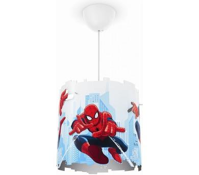 Disney Spider-man SVÍTIDLO ZÁVĚSNÉ E27 1x23W bez zdroje Philips 71751/40/16 + DOPRAVA ZDARMA